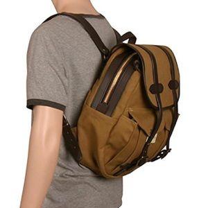 Filson Bags   Nwot Rugged Twill Rucksack Black Backpack   Poshmark 980c6486ea